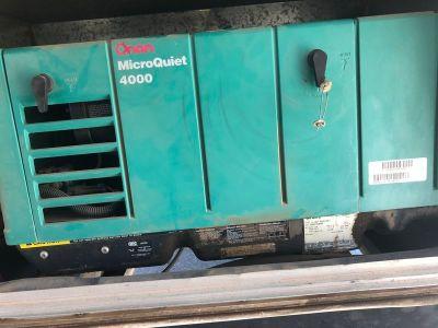 2006 Thor Industries Tahoe Onan Generator 4KW microquiet