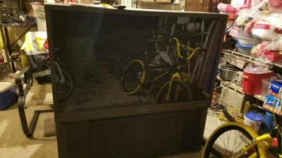 Mitsubishi 55 1080i HD rear projection tv. Great condition. SF. Works great just upgraded. FREE. Porch pick up in Bensalem.