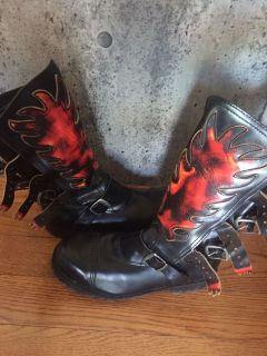 Motorcycle riding boots - size 8