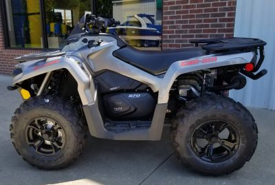 2017 Can-Am Outlander XT 570 Utility ATVs Afton, OK