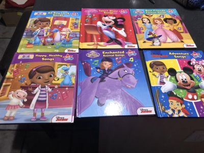 Disney Sing With Me Books