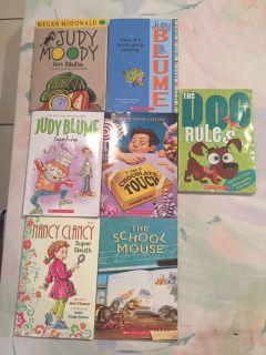 7 kids paperback books
