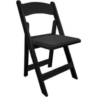 Black Resin Folding Chair at wholesale-foldingchairstables-discount.com