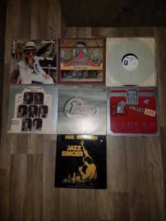 Vintage music records