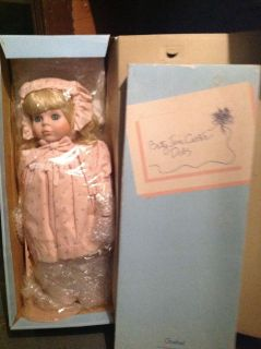 Betty Jane porcelain collectable music playing doll