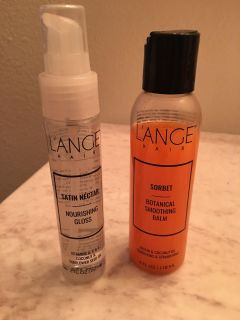 Lange hair products!