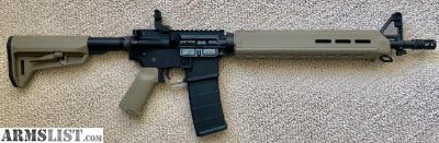"""For Sale: AR15 PSA 16"""" MID-LENGTH 5.56 NATO 1/7 DISSIPATOR UPPER and PSA LOWER"""