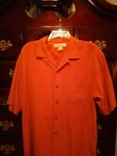 Tommy Bahama size small button up silk shirt. $8