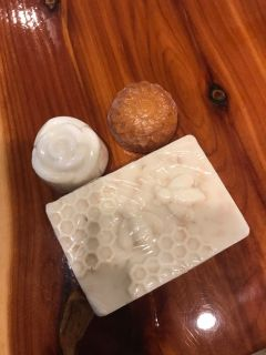Handmade soaps from craft show