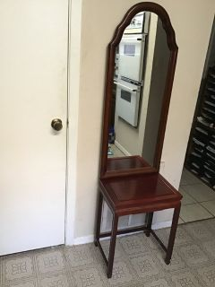 Chinese Table/Franch Mirror