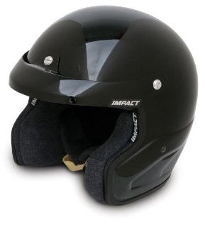 Sell IMPACT RACING 15099610 VELOCITY HELMET X-LARGE BLACK SA2010 motorcycle in Moline, Illinois, US, for US $269.99