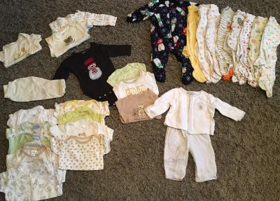 Unisex baby clothes 3-6 months