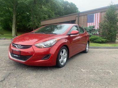 2011 Hyundai Elantra GLS (Red Allure Metallic)