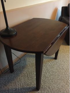 Drop Leaf Table-Double sided-Cherry