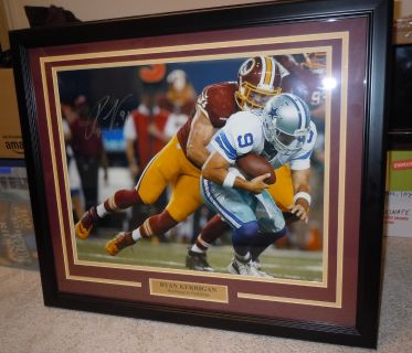 Washington Redskins Ryan Kerrigan signed Framed Picture