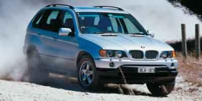 2003 BMW X5 4.4i (Alpine White)