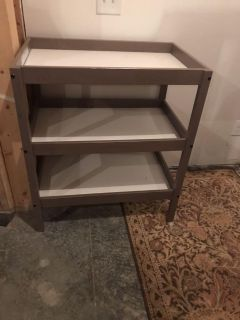 Grey IKEA Changing Table