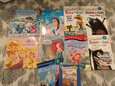 Lot of early reader/picture books(10)