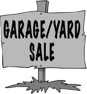 Rummage, Garage, Yard Sale. 24465 Fairmount Rd. Waynesfield Ohio