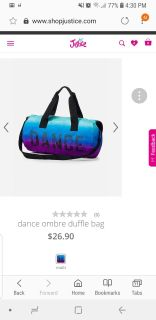 Looking for something similar to this. Has to be a dance bag