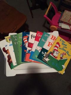 Dr Suess Beginners Books