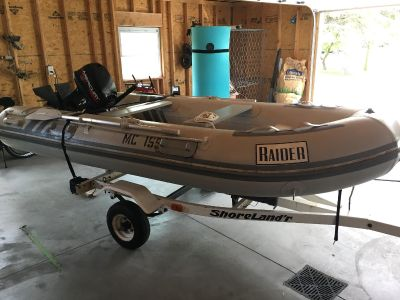 11ft Raider RIB inflatable boat for Sale!