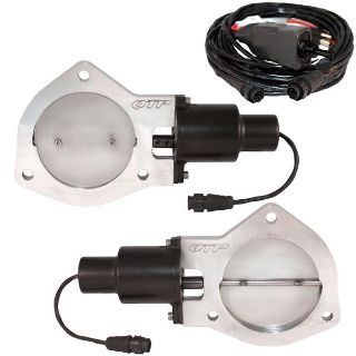 """Sell QTP QTEC80 Dual 4"""" Electric Exhaust Cutout Valves motorcycle in Suitland, Maryland, US, for US $390.23"""