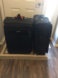 Luggage -2 extra large and lightweight