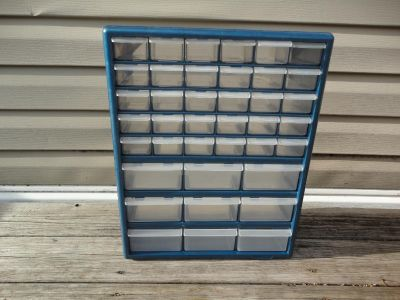 39 Drawer Storage Cabinet, can hang on wall