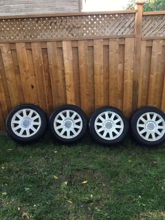 Audi Rims and Snow Tires