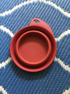 Collapsible Water Bowl for Pets ~ Great for Water on the Go!
