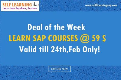 Last 14 hours - Learn SAP Course @ 59 $ Only..