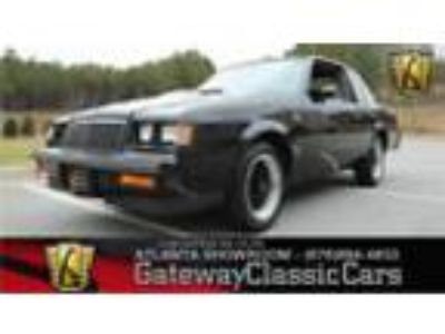 1986 Buick Grand National -- 1986 Buick Grand National Coupe 3.8L V6 Turbo 4
