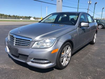 2013 Mercedes-Benz C-Class C300 4MATIC Luxury (Palladium Silver Metallic)
