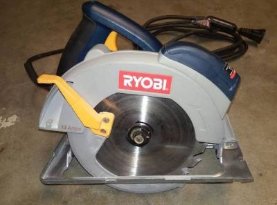 Like NEW Laser Guided Double Insulated Circular Saw