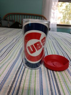 New Tervis Tumbler 16 oz with lid Chicago Cubs