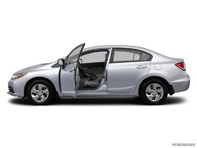 2013 Honda Civic LX (Polished Metal Metallic)