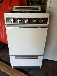Gas stove great for hunting place or cabin