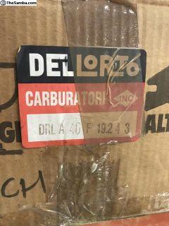 NOS Dellorto DLRA Carbs