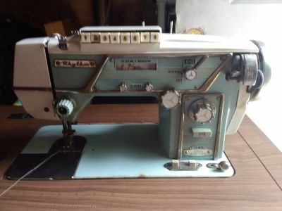 Rhythm 1950s sewing machine