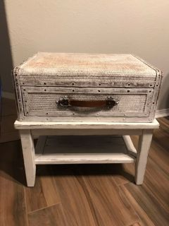Two side tables with drawers