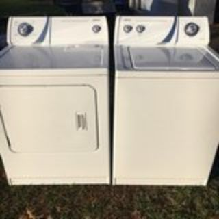 washer and dryer matching set