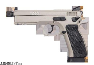For Sale: CZ 75 SP-01 Tactical Urban Grey Suppressor Ready sp 01 SP 01 sp01 SP01