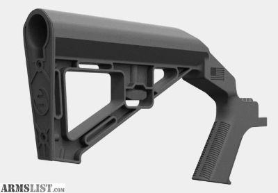 For Sale: Slide Fire SSAR-15 SBS stock with rubber pad