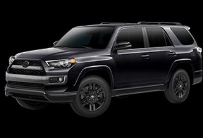2019 Toyota 4Runner SR5 (Midnight Black Metallic)