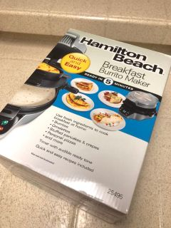 Brand new Hamilton Beach Breakfast Maker