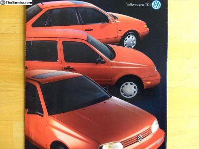 Volkswagen TDI brochure