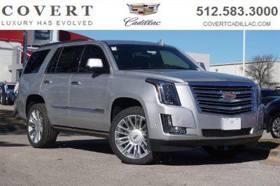 2018 Cadillac Escalade Platinum (radiant silver metallic)