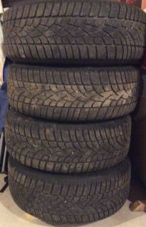 4 Snow Tires & Wheels