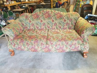 Tapestry Couch